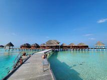 So arbeitet ein Paar im Homeoffice von einem Malediven-Resort aus